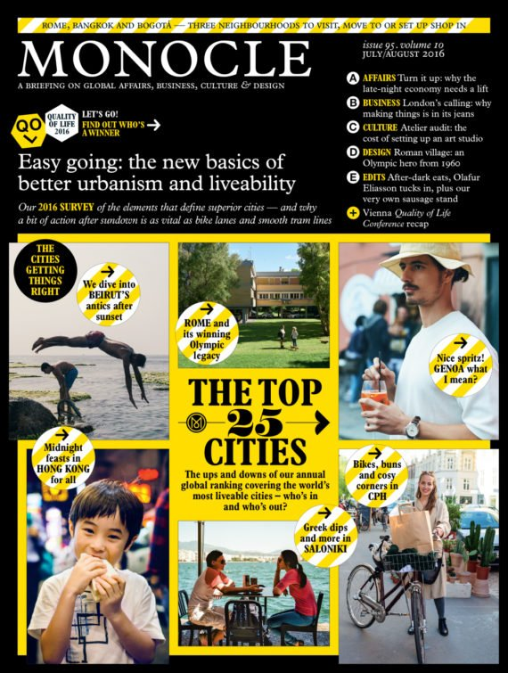 Grange Triple Double profiled in Monocle Magazine as part of Housing: Generation Gaps