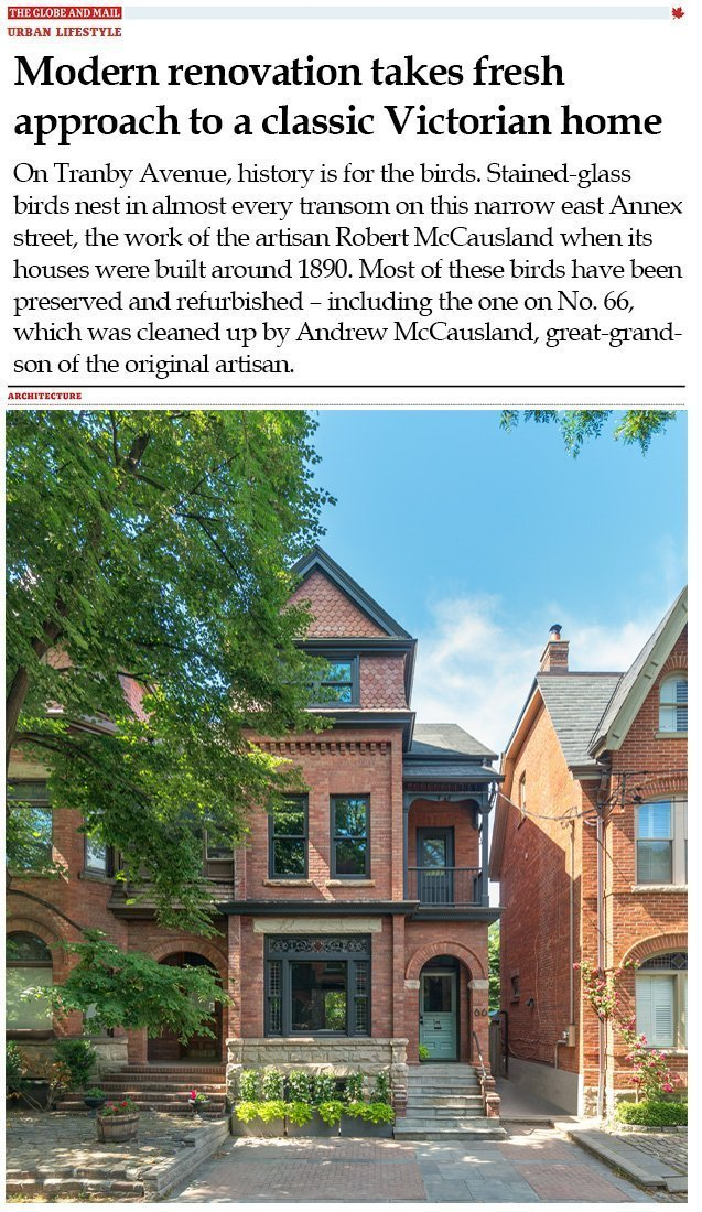 """17e83df79535 Modern renovation takes fresh approach to a classic Victorian home. """""""