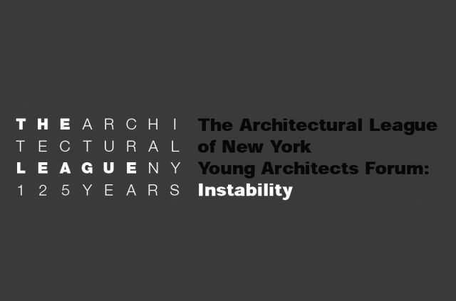 Williamson Williamson Selected for the Architectural League of New York's 25th Annual Young Architects Forum