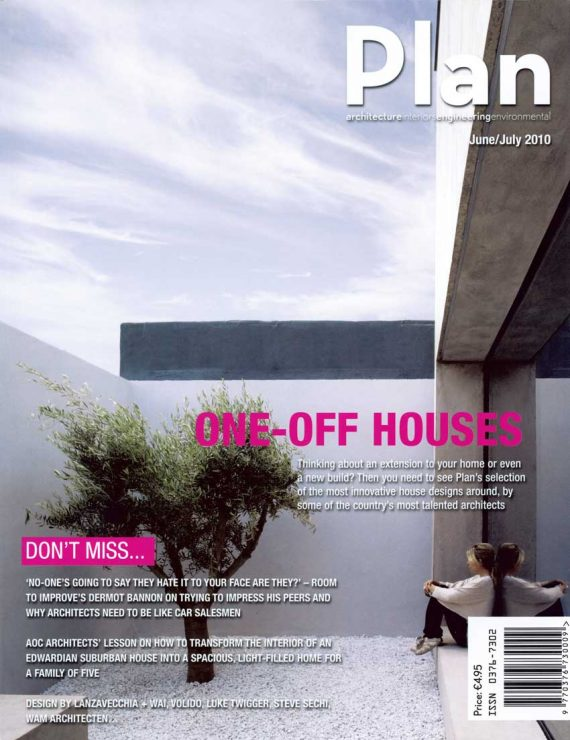 Plan Magazine publishes the House in Frogs Hollow
