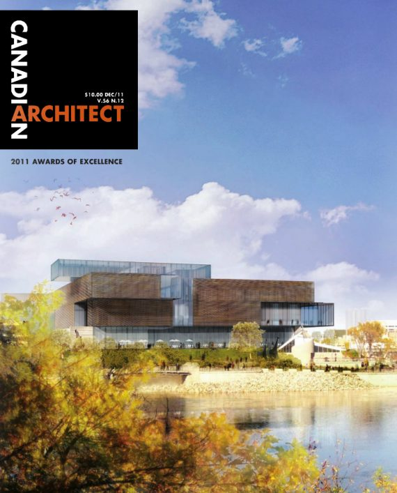 Canadian Architect features Abbey Gardens in the 2011 Awards of Excellence Issue
