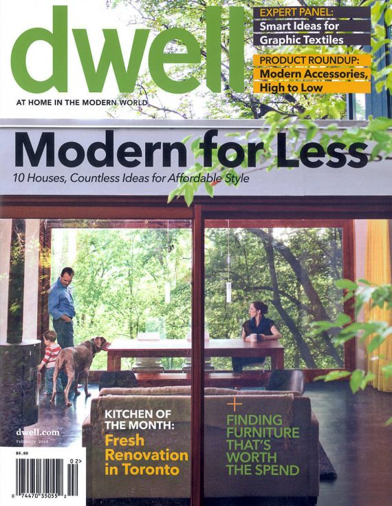 Dwell Magazine chooses Blantyre for its Kitchen of the Month