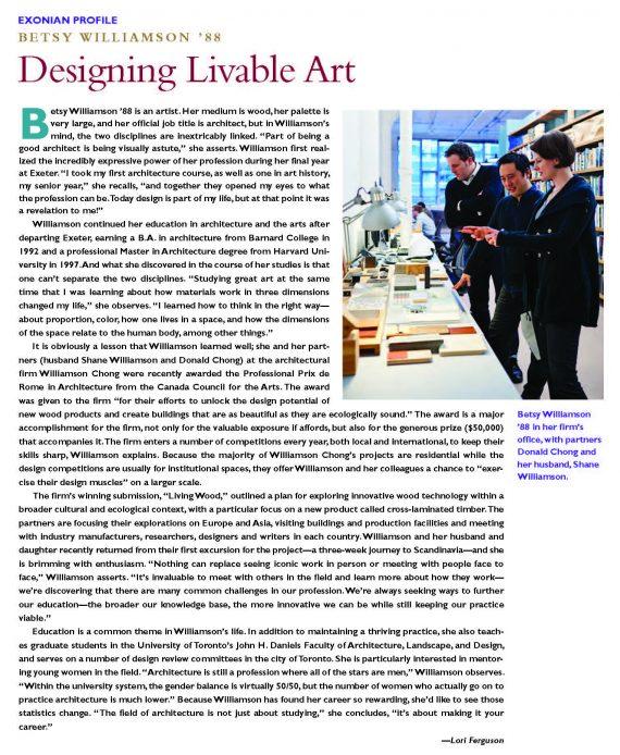 Designing Livable Art