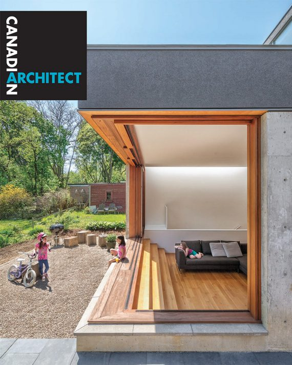Bala Line House graces the cover of Canadian Architect