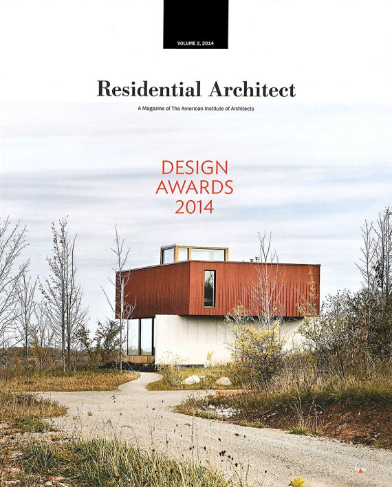 Residential Architect features Frogs Hollow on the cover