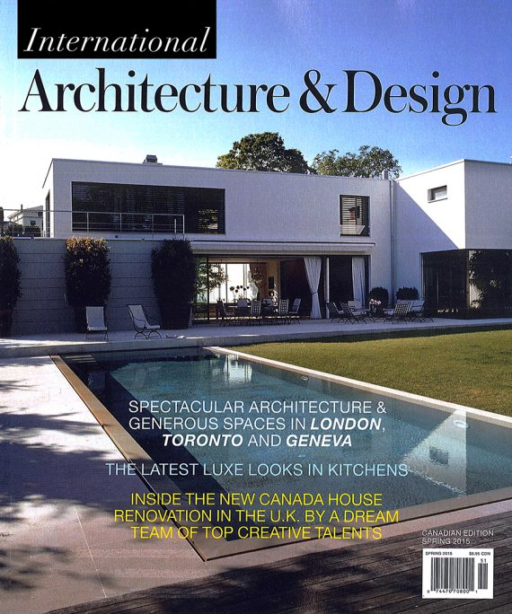 International Architecture & Design features the Bala Line House