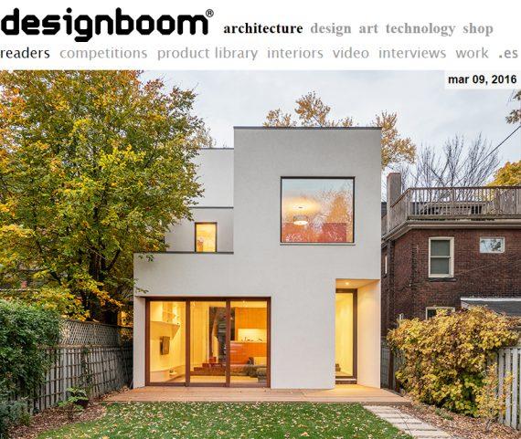 Designboom publishes the Roxborough Residence