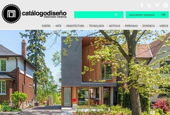 Catálogodiseño Magazine Publishes the House on Bala Line