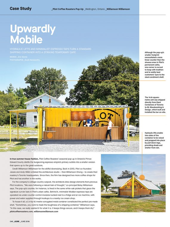 Azure Magazine presents Pilot Mobile as a case study in skillful downsizing